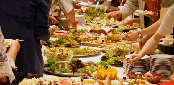 Aménagement des fêtes & buffets - Newcom Maroc